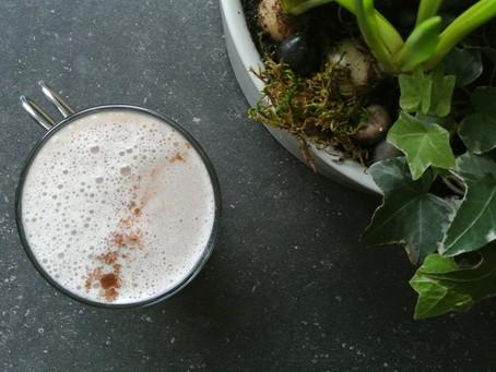 Dandelion Root Tea Latte