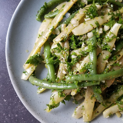 Beans With Gremolata