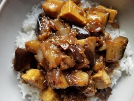 Black Pepper Tofu & Eggplant