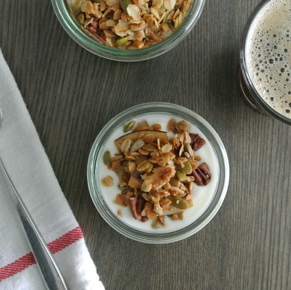 Olive Oil & Maple Granola