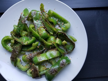 Shishito-Style Green Peppers