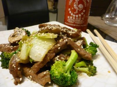 Korean beef and broccoli bulgogi