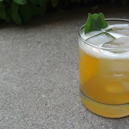 Sage Goldrush Cocktail