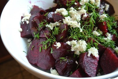 Beet Salad with Dill and Horseradish