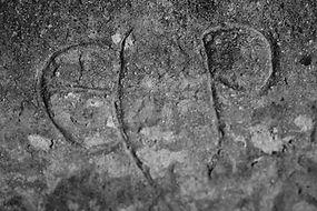 St Buryan - C13th carving - robindowell