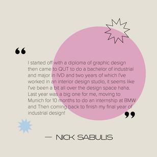 Nick Sabulis