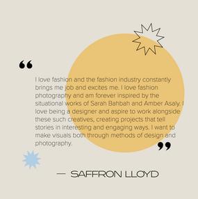 Saffron Lloyd