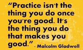 Practice v Training