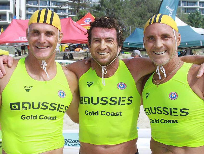 Marty, Lemo and GK - Gold 150+ Ski Relay