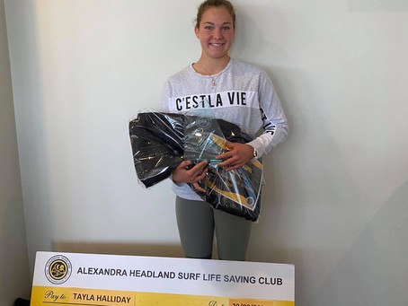 Alexandra Headland Surf Life Saving Club Inc. 2019/2020 Presentation Awards 31 August 2020