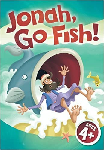 GAME JONAH GO FISH JUMBO CARD 4 AND ABOVE 127632