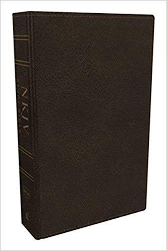 BIBLE NKJV STUDY INDEX 701 BURGUNDY BONDED FULL COLOUR 9 PT