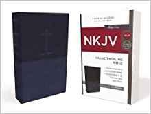 NKJV Value 463 Thinline Blue Imitation