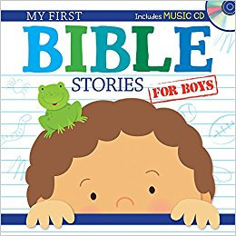 My First Bible Stories for Boys Age 3 - 5 Children