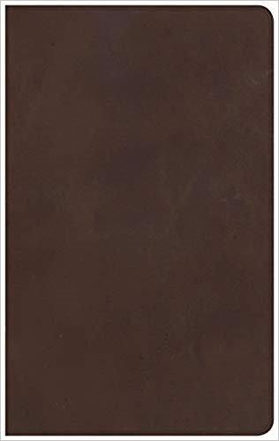BIBLE NKJV ULTRATHIN 871 Brown Genuine Leatherr 8.25 PT