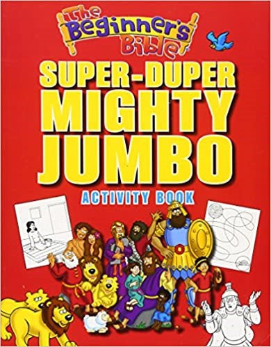 The Beginner's Bible Super-Duper, Mighty, Jumbo Activity Book (Paperback)