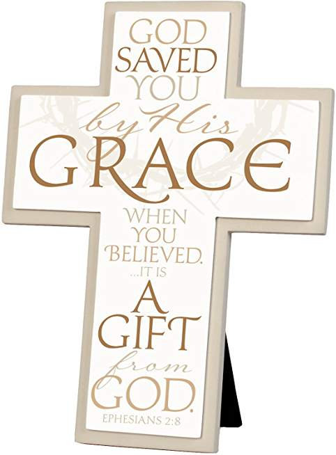 CROSS TABLE  SAVED BY GRACE  35.90 11321