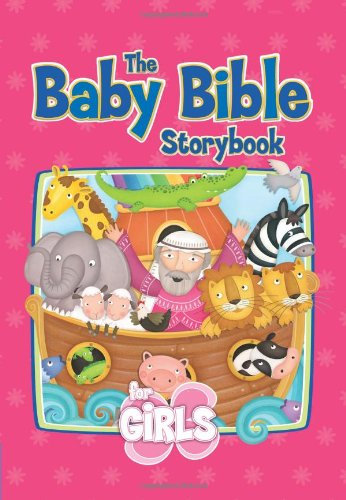 Baby Bible Storybook for Girls Children Hard cover