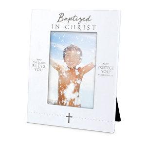 PHOTO FRAME BAPTISED IN CHRIST 17267  RESIN