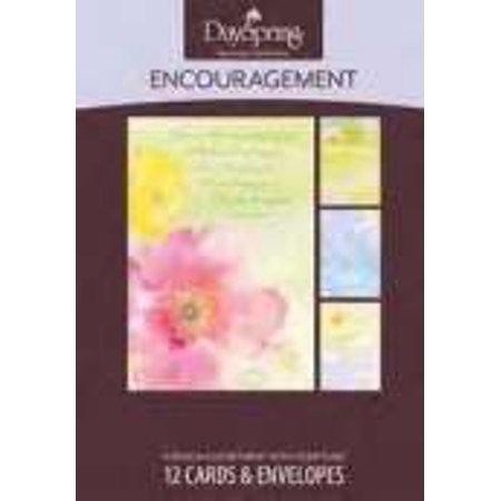 CARD BOX ENCOURAGE 45020 Watercolor 12 cards 4 designs