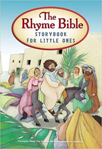 The Rhyme Bible Storybook for Little Ones - L. J. Sattgast