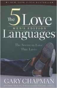 5 LOVE LANGUAGES MENS GARY CHAPMAN AUTHOR