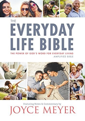 BIBLE AMPLIFIED EVERYDAY LIFE 957 Hard Cover Joyce Meyer