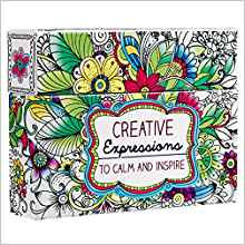 ADULT COLORING CARDS CREATIVE EXPRESSION 573