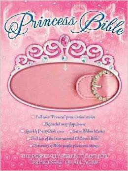 ICB Princess Bible Children Pink Snap Flap Closure