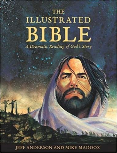 The Illustrated Bible  - Mike Maddox (Hard Cover)