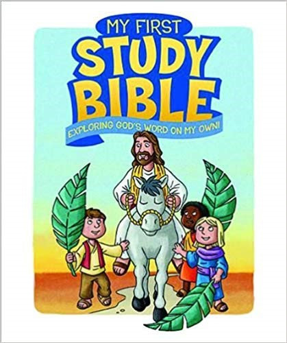 MY FIRST STUDY BIBLE - PAUL LOTH (HARD COVER, AGE 6 - 10)