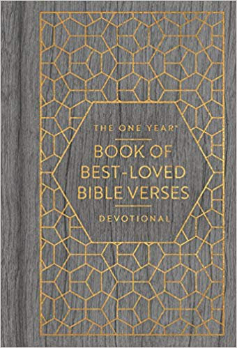 The One Year Book of Best-Loved Bible Verses Devotional - Len Woods (Hard Cover)