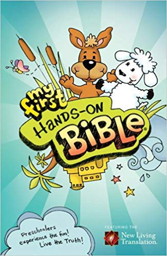 NLT MY FIRST HANDS-ON BIBLE (HARDCOVER, AGE 4-6, 308)