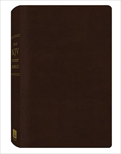 KJV STUDY BLACK BONDED RL 9 PT