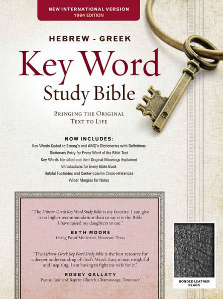 Hebrew-Greek Key Word Study Bible NIV