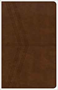 NKJV Ultrathin Index Bible Brown Leathertouch