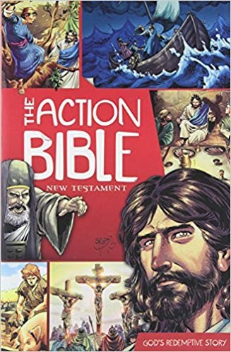 The Action Bible New Testament: God's Redemptive Story - Doug Mauss (Paperback)