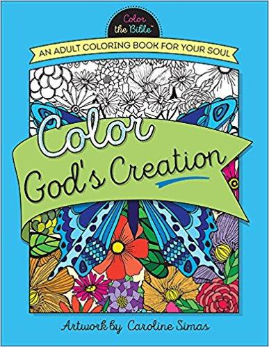 Adult Coloring God's Creation 843 Caroline Simas