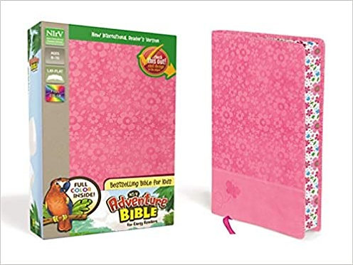 NIRV ADVENTURE PINK ITALIAN CHILDREN AGE 6 TO 10 9 PT EARLY READERS