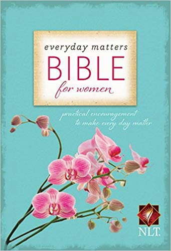 BIBLE NLT EVERYDAY MATTERS FOR WOMEN Hard Cover