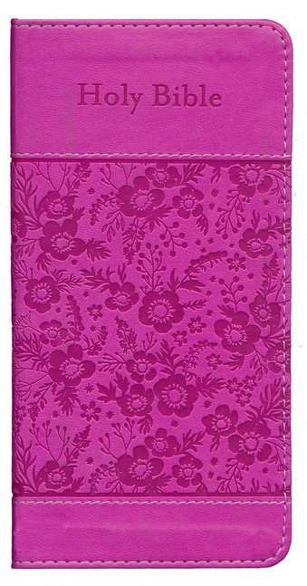 KJV COMPACT BIBLE PROMISE EDITION (PINK IMITATION LEATHER)