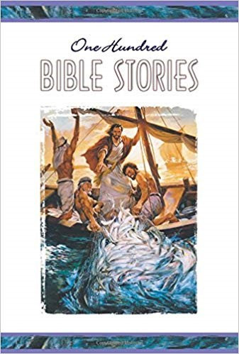100 BIBLE STORIES (HARD COVER, AGE 8 AND UP, 485)