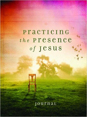 Journal Practicing the Presence of Jesus HC green