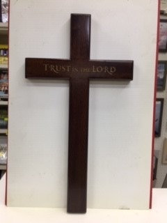 CROSS TRUST IN THE LORD C30-144 WOOD 12 INCH
