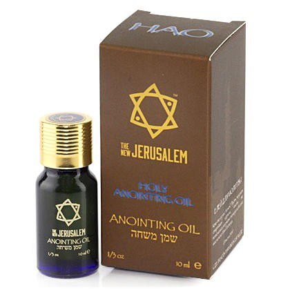 ANOINTING OIL HOLY ANOINTING 770 1/3 OZ 01002