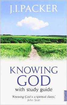 Knowing God JI Packer Author with study guide