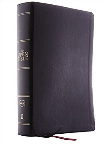 BIBLE NKJV OPEN 361 BLACK IMITATION RL 9 PT