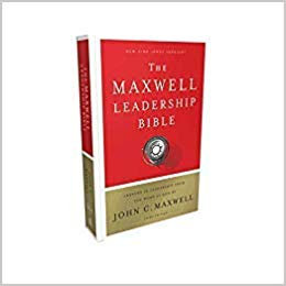 BIBLE NKJV MAXWELL LEADERSHIP 548 Hard Cover 2018 9 PT JOHN