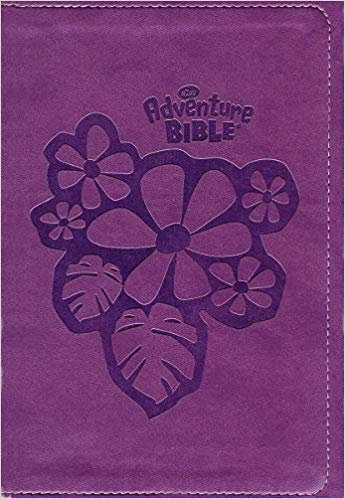 BIBLE NIrV ADVENTURE for EARLY READERS 446 Purple Leathersoft