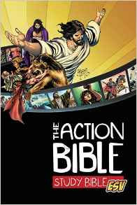Action Study Bible Children ESV Age 9 -12